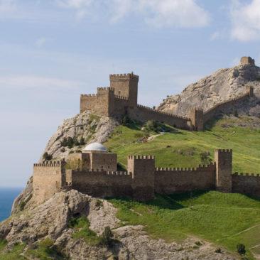 судак генуэзская крепость (Судак)